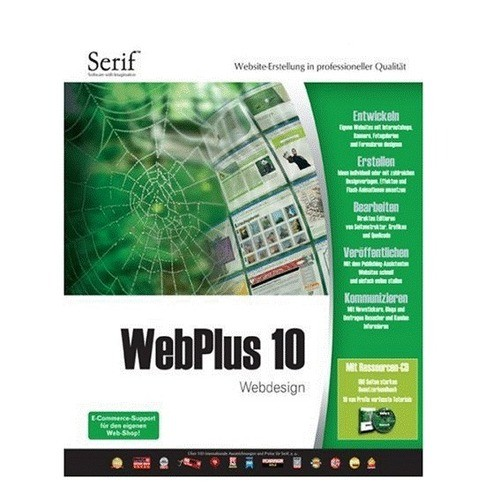 Avanquest Serif WebPlus 10 1 PC Vollversion EFS...