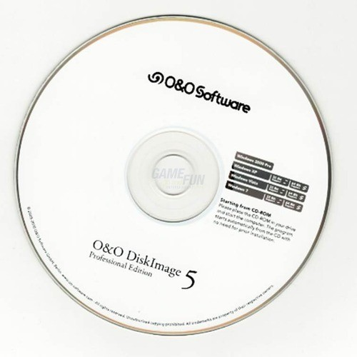 O&O Software O&O DiskImage 5 Professional Edition 1 PC Vollversion EFS DVD