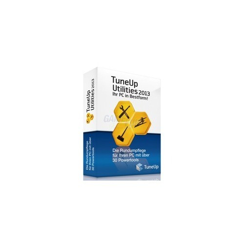 S.A.D. TuneUp Utilities 2013 1 PC Vollversion G...