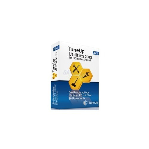 S.A.D. TuneUp Utilities 2013 3 PCs Vollversion ...