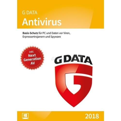 G Data Software Antivirus 2 PCs Vollversion ESD 2 Jahre für aktuelle Version 2017