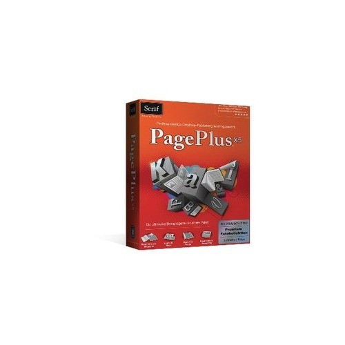 Serif PagePlus X5 Publisher 1 PC Vollversion MiniBox