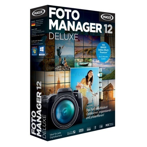 MAGIX Foto Manager 12 Deluxe Vollversion MiniBox