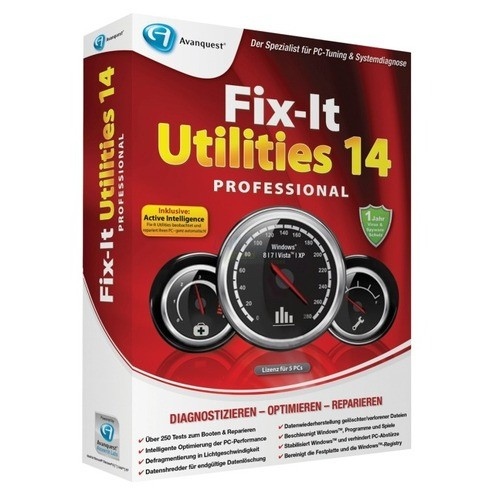 Avanquest Fix-It Utilities 14 Professional Voll...