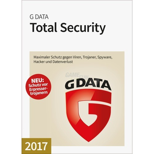 G Data Software Total Security 4 PCs Vollversio...