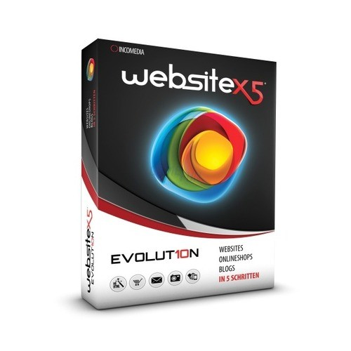 Incomedia WebSite X5 Evolution 10 Vollversion M...