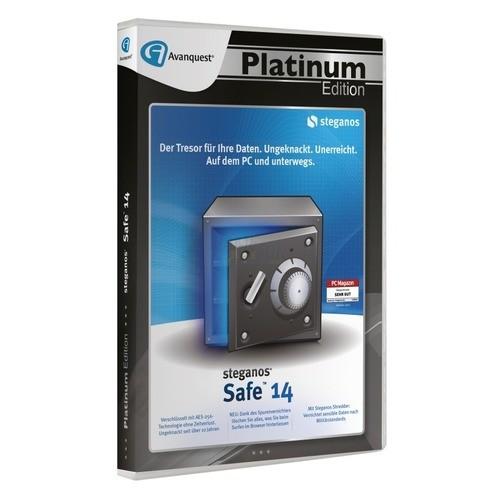 Steganos Safe 14 1 PC Vollversion DVD-Box
