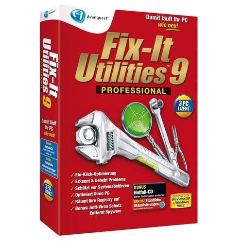 Avanquest Fix-It Utilities 9 Professional 3 PCs...