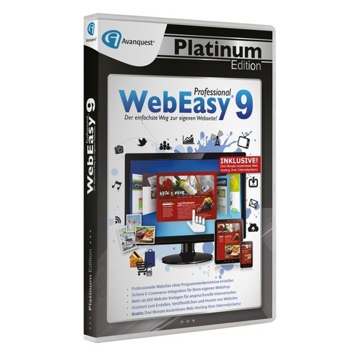 Avanquest WebEasy 9 Professional Vollversion Pl...