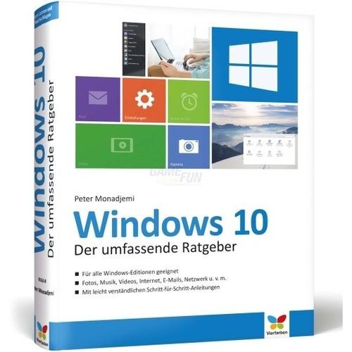 Vierfarben Verlag Windows 10 Der umfassende Rat...