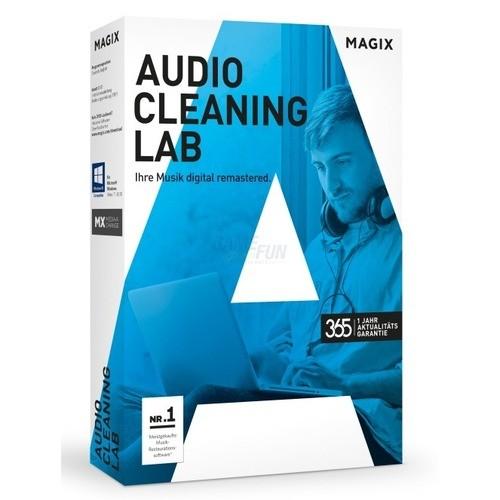 Vorschaubild von MAGIX Audio Cleaning Lab Vollversion MiniBox