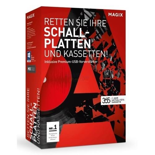 Vorschaubild von MAGIX Retten Sie Ihre Schallplatten & Kassetten Vollversion MiniBox