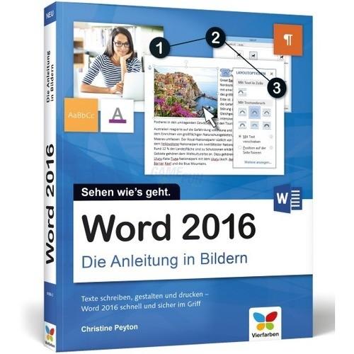 Vierfarben Verlag Word 2016 Die Anleitung in Bi...