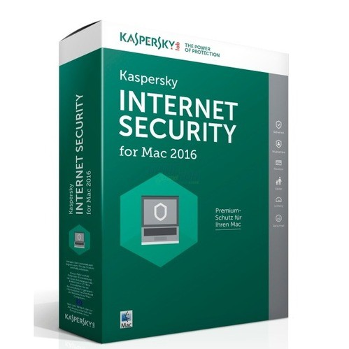 Kaspersky Internet Security for MAC 2016 1 Benu...