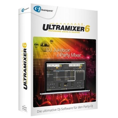 Vorschaubild von Avanquest Ultramixer 6 Home Vollversion MiniBox