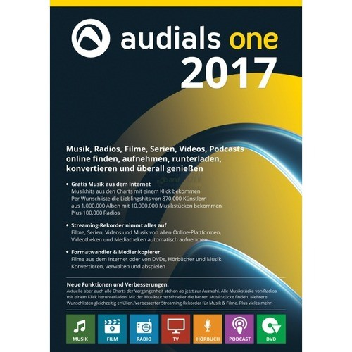 Vorschaubild von Audials One 2017