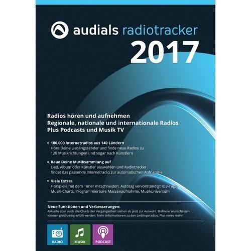 Vorschaubild von Audials Radiotracker 2017