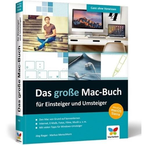 Vierfarben Verlag Das große Mac-Buch für Einste...