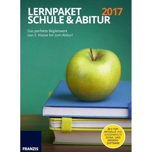 Vorschaubild von Franzis Verlag Lernpaket Schule und Abitur 2017