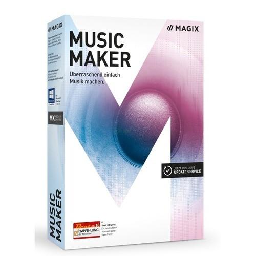 Vorschaubild von MAGIX Music Maker 2017 Vollversion 1 Jahr