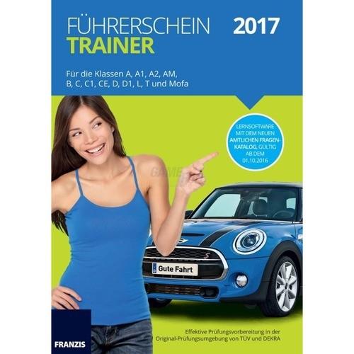 Franzis Verlag Führerschein Trainer 2017