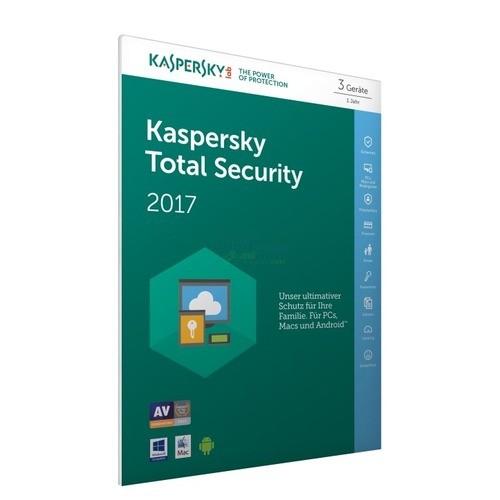 Kaspersky Total Security 2017 (FFP) 3 Geräte Vo...