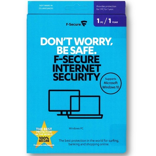 F-Secure Internet Security ML 1 PC Vollversion ...