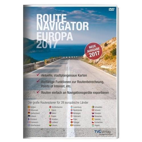 TVG Verlag RouteNavigator Europa 2017 Vollversi...