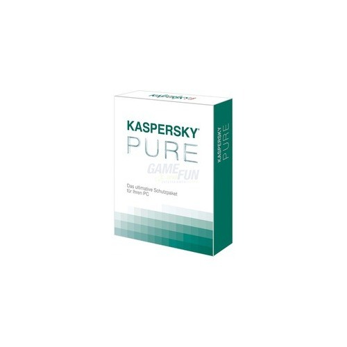 Kaspersky PURE 3 PCs Vollversion MiniBox 1 Jahr