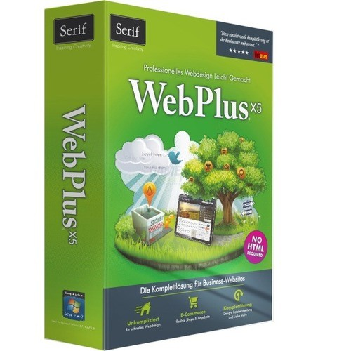 Serif WebPlus X5 Vollversion MiniBox