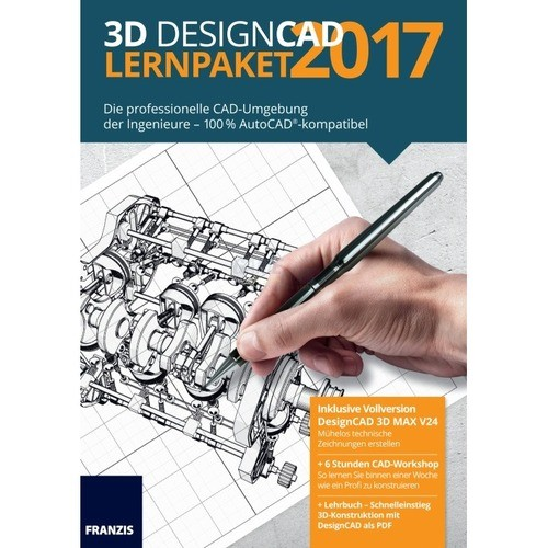 Franzis Verlag 3D Design CAD Lernpaket 2017 Vol...