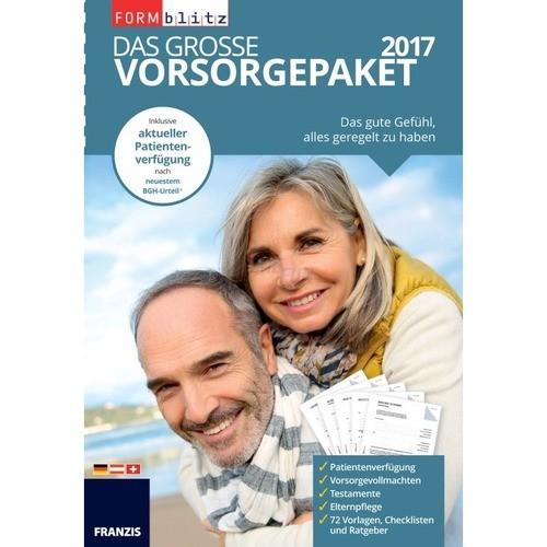 Franzis Verlag Das große Vorsorgepaket 2017