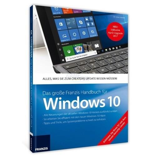 Franzis Verlag Handbuch für Windows 10 Update 2017