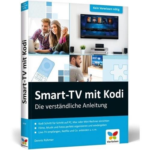 Vierfarben Verlag Smart-TV mit Kodi - Die verst...