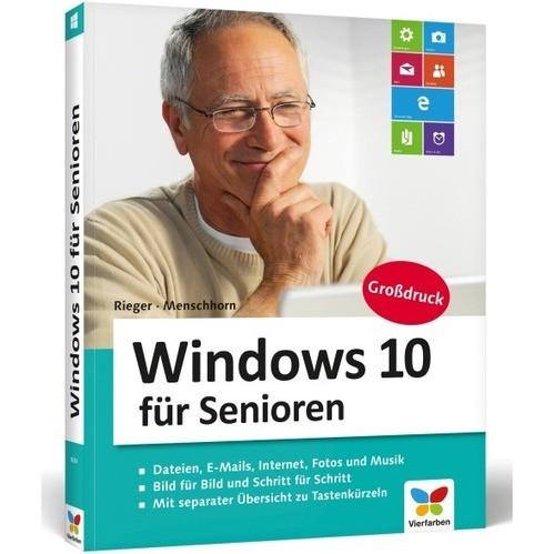 Vierfarben Verlag Windows 10 für Senioren