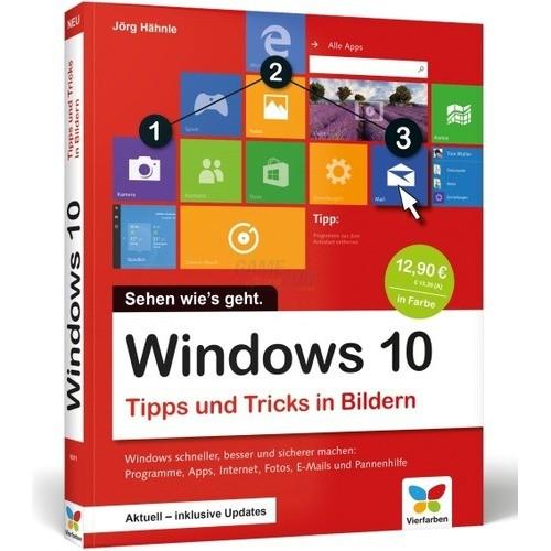 Vierfarben Verlag Windows 10 Tipps und Tricks i...