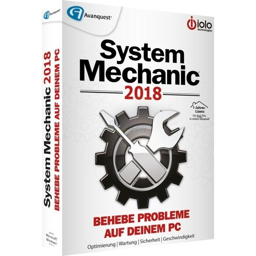 IOLO System Mechanic 2018 Vollversion MiniBox 1...