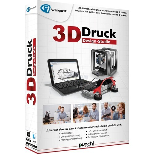 punch software 3d druck design studio vollversion minibox game and game and fun shop. Black Bedroom Furniture Sets. Home Design Ideas