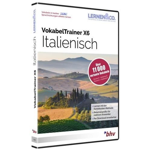 BHV VokabelTrainer X6 Italienisch Vollversion D...