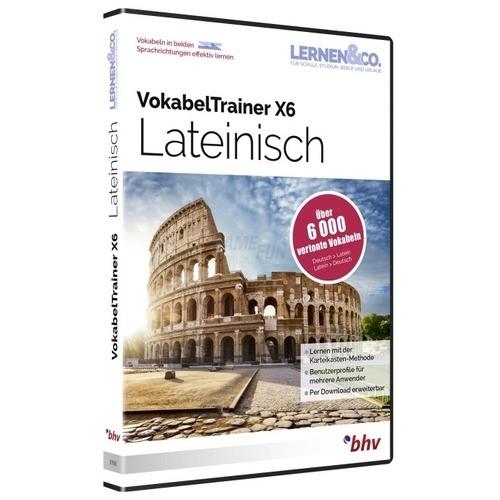 BHV VokabelTrainer X6 Latein Vollversion DVD-Box