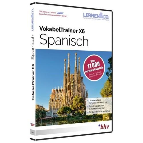 BHV VokabelTrainer X6 Spanisch Vollversion DVD-Box
