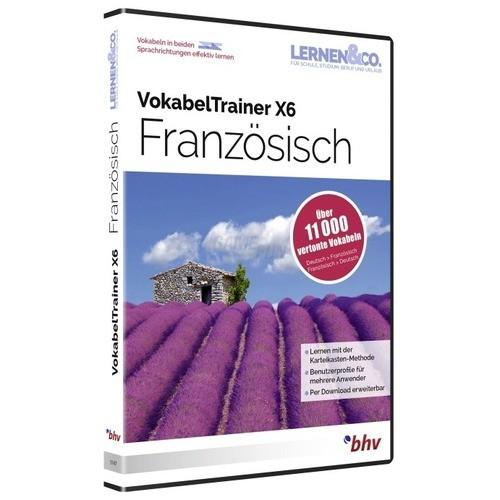 BHV VokabelTrainer X6 Französisch Vollversion D...