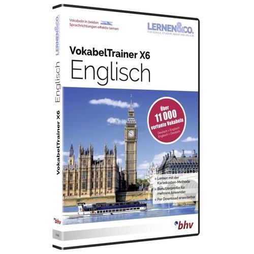 BHV VokabelTrainer X6 Englisch Vollversion DVD-Box