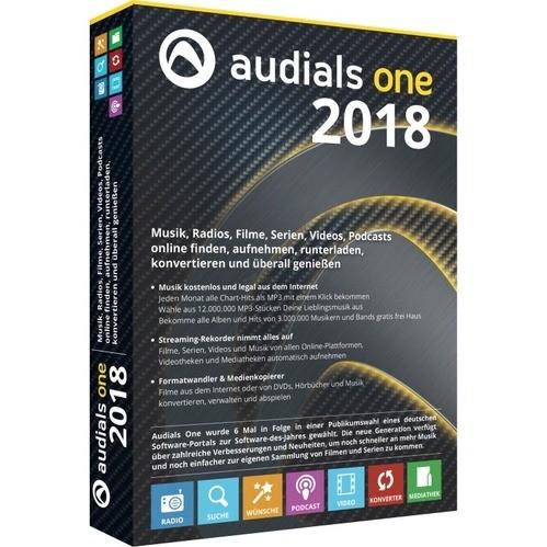 Audials One 2018 Vollversion MiniBox