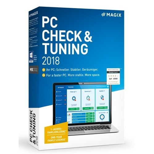 MAGIX PC Check & Tuning 2018 6 PCs Vollversion ...