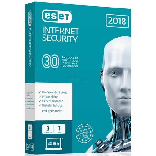 ESET Internet Security 2018 Edition 3 Computer ...
