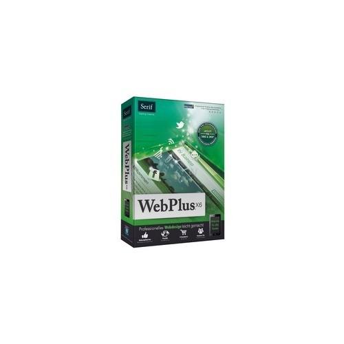 Serif WebPlus X6 1 PC Vollversion MiniBox