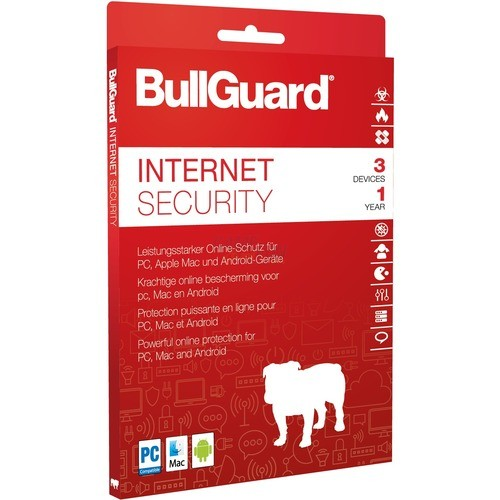 BullGuard Internet Security 2018 3 Geräte Vollversion ESD 1 Jahr ( Download )