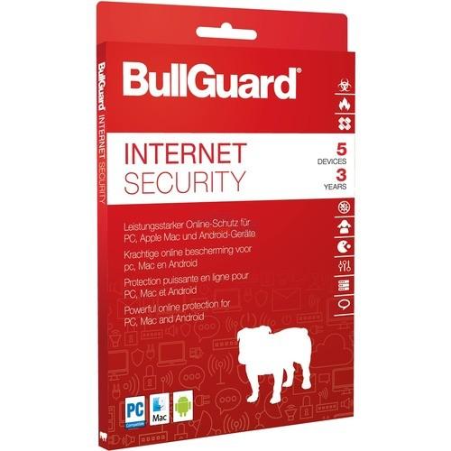 BullGuard Internet Security 2018 5 Geräte Vollv...