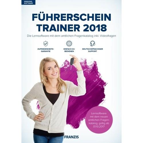 Franzis Verlag Führerschein Trainer 2018 Vollve...